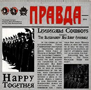 Cover - Leningrad Cowboys: Happy Together