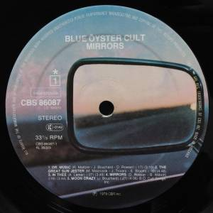 Blue Öyster Cult: Mirrors (LP) - Bild 3