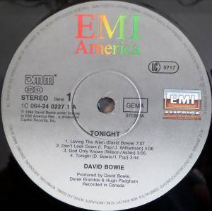 David Bowie: Tonight (LP) - Bild 3