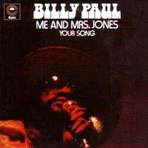 Billy Paul: Me And Mrs. Jones - Cover