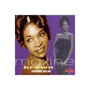 Cover - Maxine Brown: Something You Got