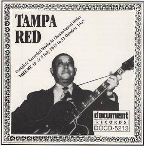 Cover - Tampa Red: Volume 13 - 5 July 1945 To 31 October 1947