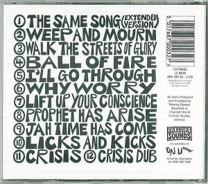 Israel Vibration: The Same Song (CD) - Bild 2