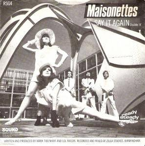 Cover - Maisonettes, The: Say It Again