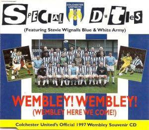 Cover - Special Duties: Wembley! Wembley! (Wembley Here We Come!)