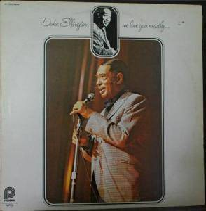Cover - Duke Ellington: We Love You Madly