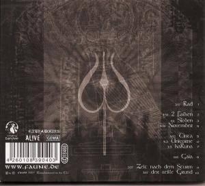 ... Faun: Totem (CD)   Bild 2 ...