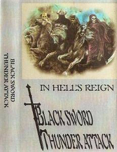 Black Sword Thunder Attack: In Hell's Reign - Cover