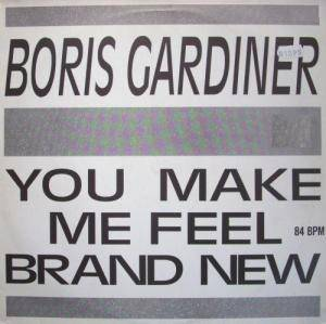 Cover - Boris Gardiner: You Make Me Feel Brand New