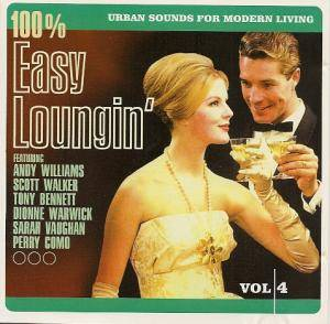 Cover - Jackie Trent: 100% Easy Loungin' - Urban Sounds For Modern Living Vol. 4