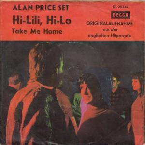 Cover - Alan Price Set, The: Hi-Lili, Hi-Lo