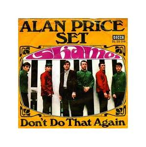 Cover - Alan Price Set, The: Shame