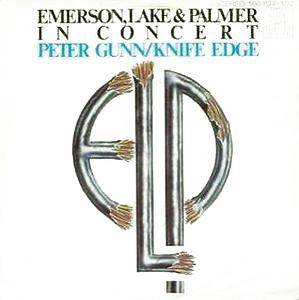 Emerson, Lake & Palmer: Peter Gunn - Cover