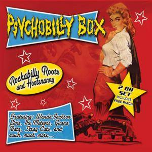 Cover - Tailgators, The: Psychobilly Box