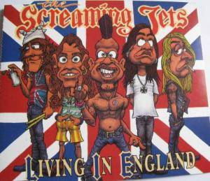 The Screaming Jets: Living In England - Cover