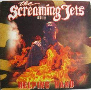 The Screaming Jets: Helping Hand - Cover