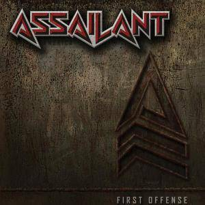Assailant: First Offense - Cover