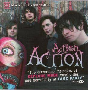 Cover - Action Action: New Music & Video Sampler
