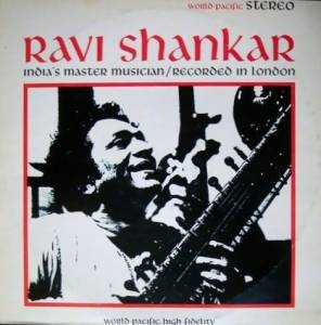 Cover - Ravi Shankar: India's Master Musician / Recorded In London