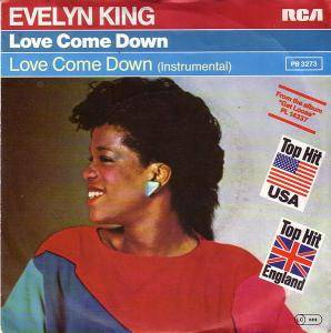 Evelyn King: Love Come Down - Cover