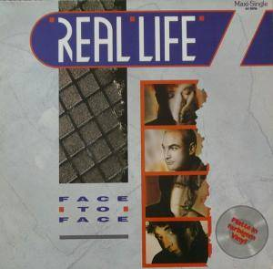 Real Life: Face To Face - Cover
