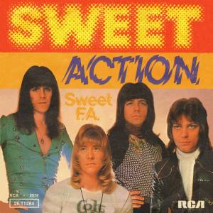 The Sweet: Action - Cover