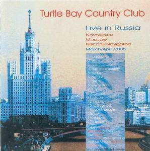 Cover - Turtle Bay Country Club: Live In Russia
