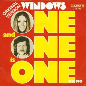 Cover - Windows: One And One Is One