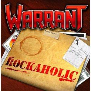 Warrant: Rockaholic - Cover