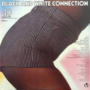 Cover - Johnnie Taylor: Black And White Connection - 40 Fantastic Hits (Bridged With Moog Synthesizer)