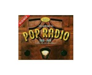 History Of Pop Radio, Vol. 1, 1920-1939, The - Cover