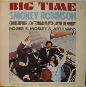 Cover - Smokey Robinson: Big Time