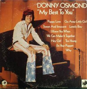 Cover - Donny Osmond: My Best To You