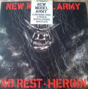 New Model Army: No Rest - Heroin - Cover