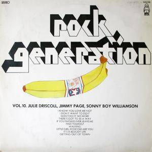 Cover - Julie Driscoll: Rock Generation Volume 10