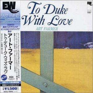 Cover - Art Farmer: To Duke With Love