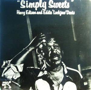 "Cover - Harry ""Sweets"" Edison & Eddie ""Lockjaw"" Davis: Simply Sweets"