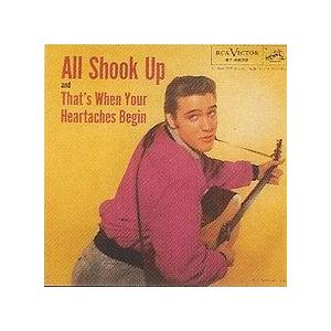 Elvis Presley: All Shook Up - Cover