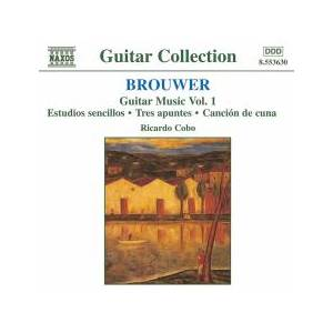 Cover - Leo Brouwer: Guitar Music Vol. 1