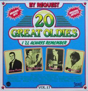 Cover - Channels, The: 20 Great Oldies I'll Always Remember Vol. 17