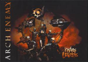 Arch Enemy: Khaos Legions (2-CD) - Bild 1