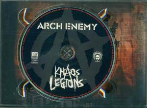 Arch Enemy: Khaos Legions (2-CD) - Bild 4