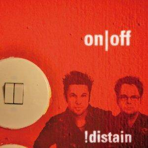 Cover - !distain: On/Off