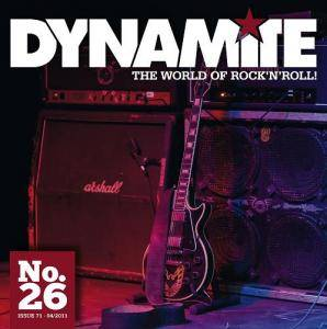 Dynamite! Issue 71 - CD #26 - Cover