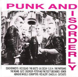 Punk And Disorderly - Cover