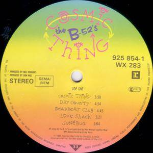The B-52's: Cosmic Thing (LP) - Bild 5