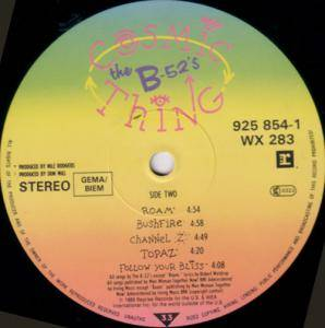 The B-52's: Cosmic Thing (LP) - Bild 8