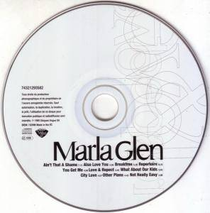 Marla Glen: Love & Respect (CD) - Bild 2