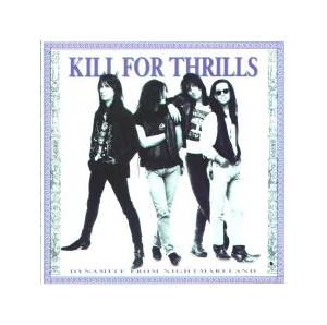 Kill For Thrills: Dynamite From Nightmareland - Cover