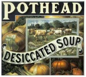 Pothead: Desiccated Soup - Cover